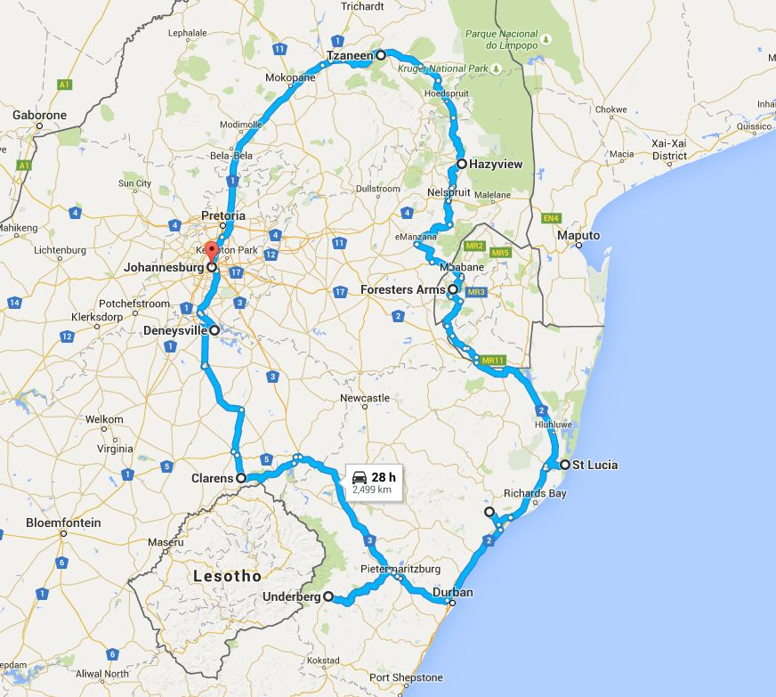 Panorama Route Tour South Africa